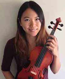 Justina Wong, violin teacher