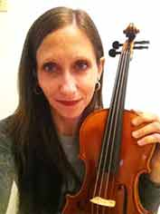 Natasha Danchenko, violin teacher